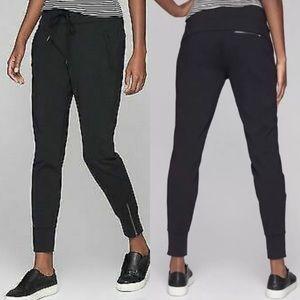 Athleta Metro Street Jogger Pants: Black